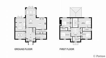 Plans Floor Layout Self Build Bedroom Blueprints