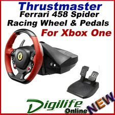 Wheel base delivers linear resistance regardless of the rotation angle, ensuring ergonomic & intuitive enjoy an authentic look with the design that delivers a 7/10 replica of the ferrari 458 spider racing wheel with a realistic 28cm diameter, two red. Thrustmaster Ferrari 458 Spider Racing Steering Wheel & Pedals for XBox One