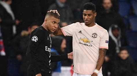 Kylian Mbappe Praises Marcus Rashford Ahead of PSG vs ...