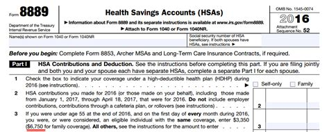 2016 health savings account limits pdf