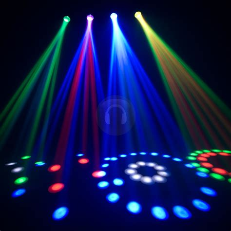chauvet 4play bright rgb led dmx dj disco light ebay