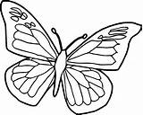 Butterfly Coloring Pages Toddlers Printable sketch template