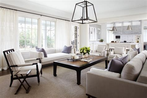 Cool sisal rug in Family Room Transitional with Daybed