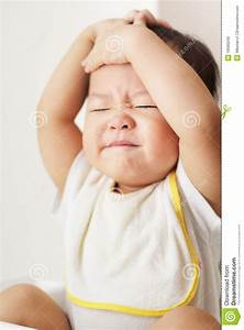 Frustrated Toddler Expression Stock Image - Image: 19560249