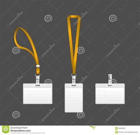 lanyard  tag holder  badge templates stock