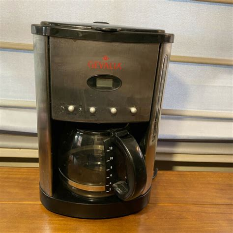 4.5 out of 5 stars. Gevalia Kaffe XCC-12 Stainless & Black 12 Cup Programable Coffee Maker | eBay
