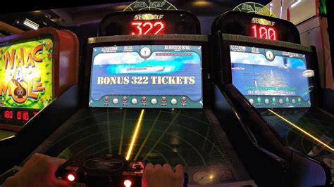 Jackpot Sea Wolf The Next Mission Submarine Arcade Game