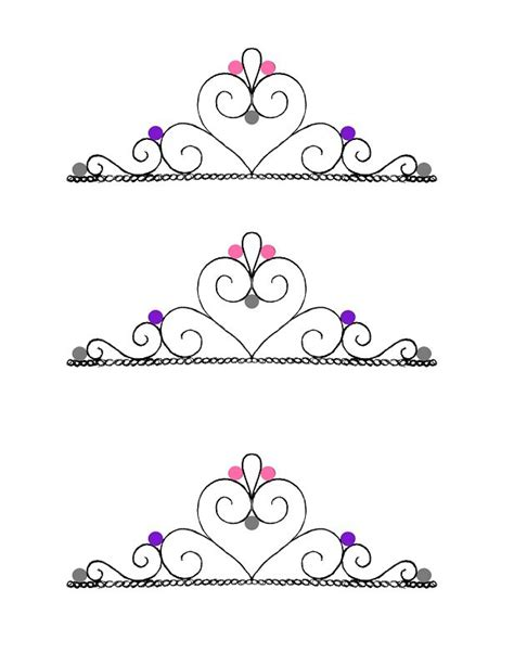 princess crown template 45 free paper crown templates template lab