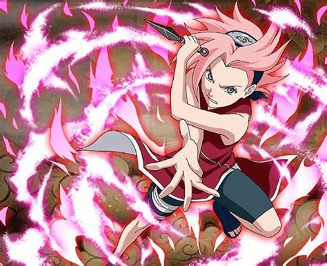 sakura haruno hardened resolve ultimate ninja blazing