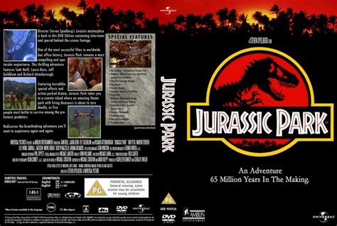 Jurassic Park Cover by Jurassic Park Movie Dvd Custom Covers 659jurassic Park