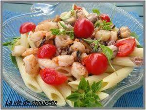 salade de p 226 tes aux fruits de mer paperblog