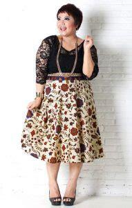 dress batik modern ukuran besar