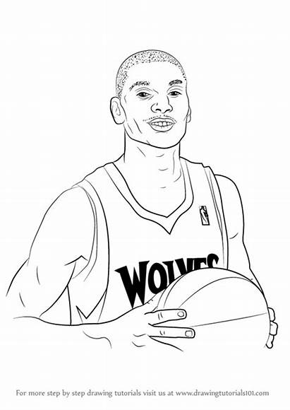 Zach Draw Lavine Players Basketball Drawing Step