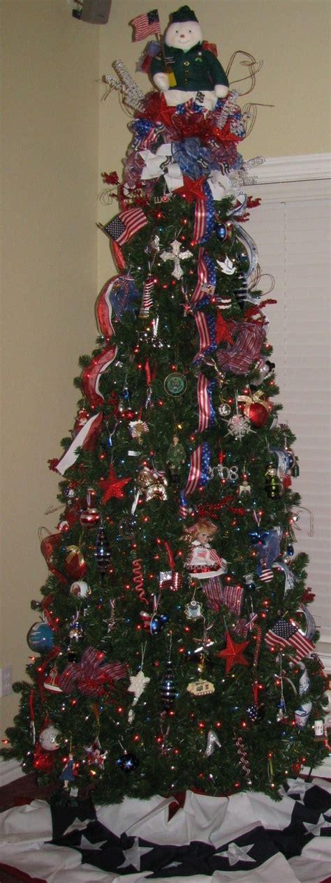 patriotic christmas tree christmas pinterest trees christmas trees and christmas