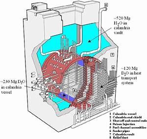 Schematic Of A Candu 6 Reactor Core