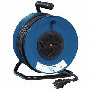Enrouleur De Cable Electrique : enrouleur de c ble lectrique pour chantier standard ~ Edinachiropracticcenter.com Idées de Décoration