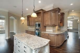 home styles kitchen island pictures of kitchens traditional medium wood cabinets