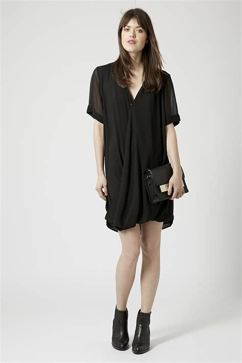 drape tunic dress fabublush fashion finds topshop dress