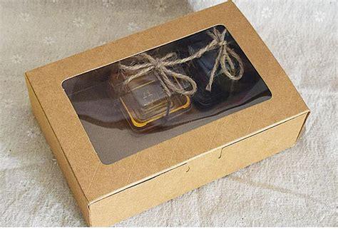wholesale qi sizecm kraft window boxes packing