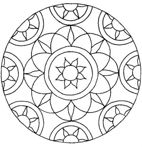 Kleurplaten Voor Bejaarden by Knutselen Met Het Thema Mandala