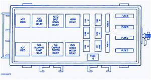 Dodge Neon 1999 Abs Fuse Box  Block Circuit Breaker Diagram