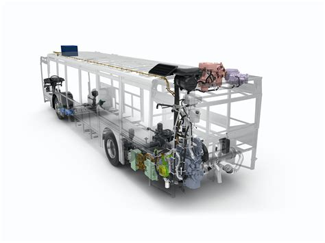 volvo  hybrid bus internal graphic official