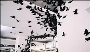 3d Schmetterlinge Wand : yc 12tlg 3d wandtattoo wand deko k hlschrank magnet aufkleber schmetterlinge neu ebay ~ Whattoseeinmadrid.com Haus und Dekorationen