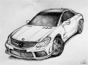 First Car Drawing By