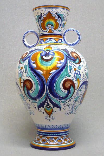 vasi  ceramica  decori tradizionali faentini