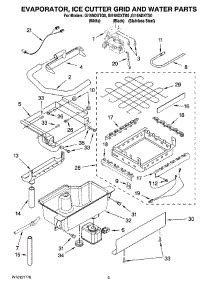 parts  whirlpool gindxtb ice machine appliancepartsproscom
