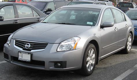 2007 Nissan Maxima  Information And Photos Momentcar