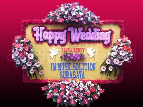 toko karangan bunga happy wedding bandung arttya florist
