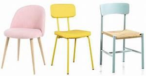 Chaise Scandinave Jaune : osez les chaises de tables color es joli place ~ Teatrodelosmanantiales.com Idées de Décoration