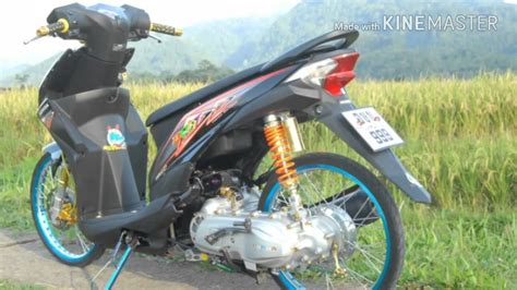 Scoopy Fi Ring 17 by Foto Modifikasi Motor Beat Ring 17 Modifikasi Yamah Nmax