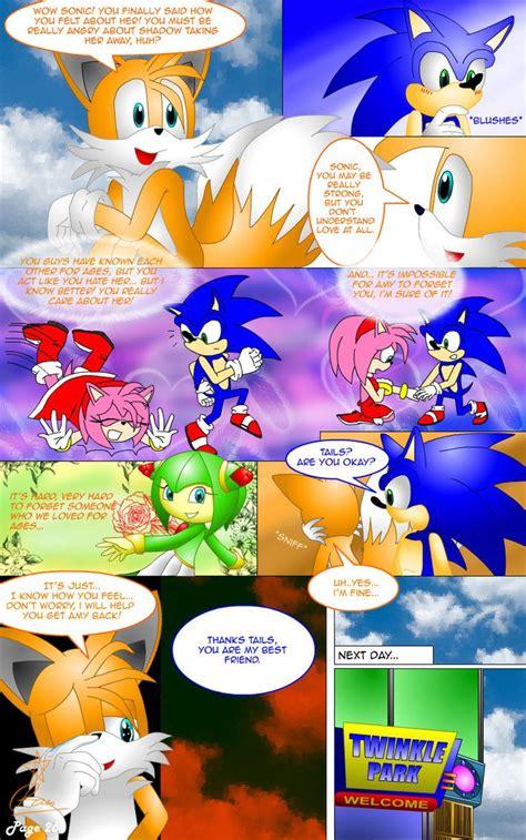 SonAmy Story Page 26 by Ran-TH | Fondos de pantalla