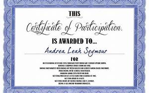 Certificate Of Participation Template Free Certificate Picture Of Participation Certificate Participation Certificate