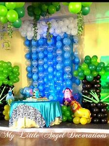 Jungle animals birthday party ideas