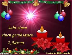 Grüße Zum 2 Advent Lustig : 2 advent pinnwand bilder gb pics 2 advent gbeintrag ~ Haus.voiturepedia.club Haus und Dekorationen