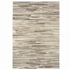 tapis prestige beige raye en peau de vache cuir authentique With tapis peau de vache avec acheter un canapé en ligne