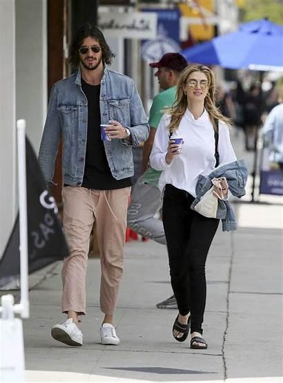 Delta Goodrem Copley Matthew Boyfriend Coffee Gotceleb