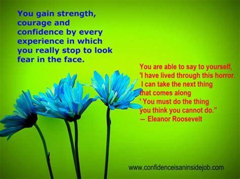 eleanor roosevelt strength courage confidence quote