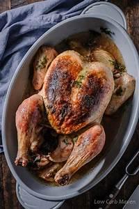 Simple Roast Chicken Recipe (Herb Roasted Chicken)   Low ...