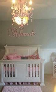 custom glittered nursery letters baby girl nursery decor With nursery wall letters girl