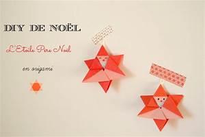 Origami Facile Noel : sur le sapin l 39 toile p re no l en origami maman ~ Melissatoandfro.com Idées de Décoration