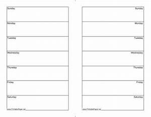 17 best images about planners printables on pinterest With 2 page weekly calendar template