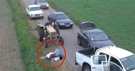 prank they pulled terrified roadblock lives rest saw them zombie virascoop