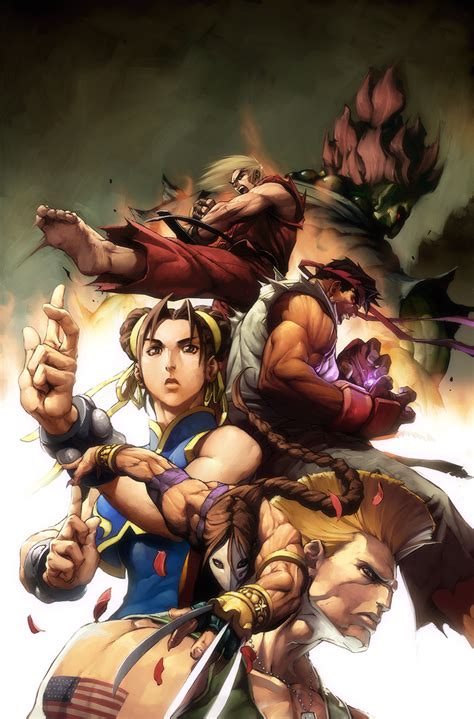 Street Fighter No3 Cover By Alvinlee On Deviantart