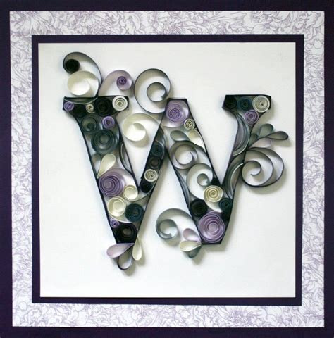 images  crafts quilling letters