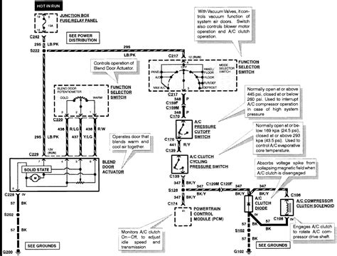 1998 A C Compressor Wiring Diagram by 1998 Ford F150 4 6 L Triton No Ac Compressor Clutch Does