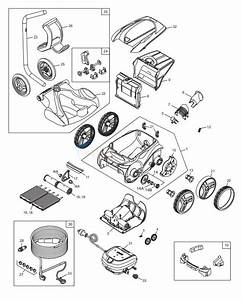 Polaris 9650iq Sport Robotic Cleaner Parts